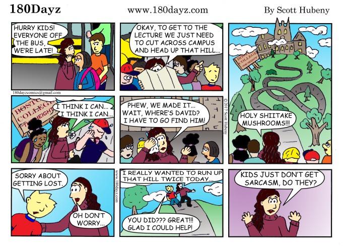Karen Townsend comic